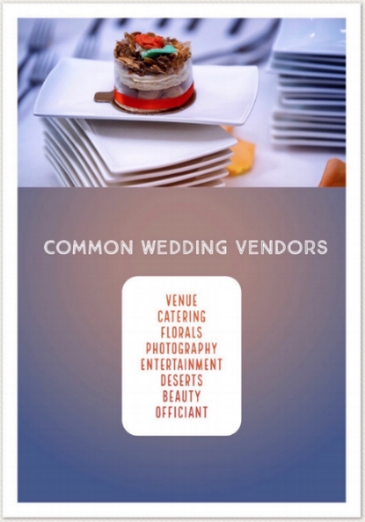 The average wedding has 8 vendors - Imagine managing them all on your wedding day...
