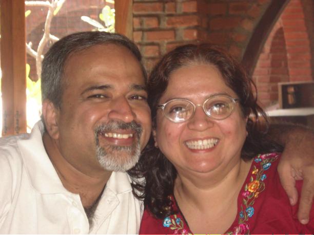 Shyam and Kanchan Keswani