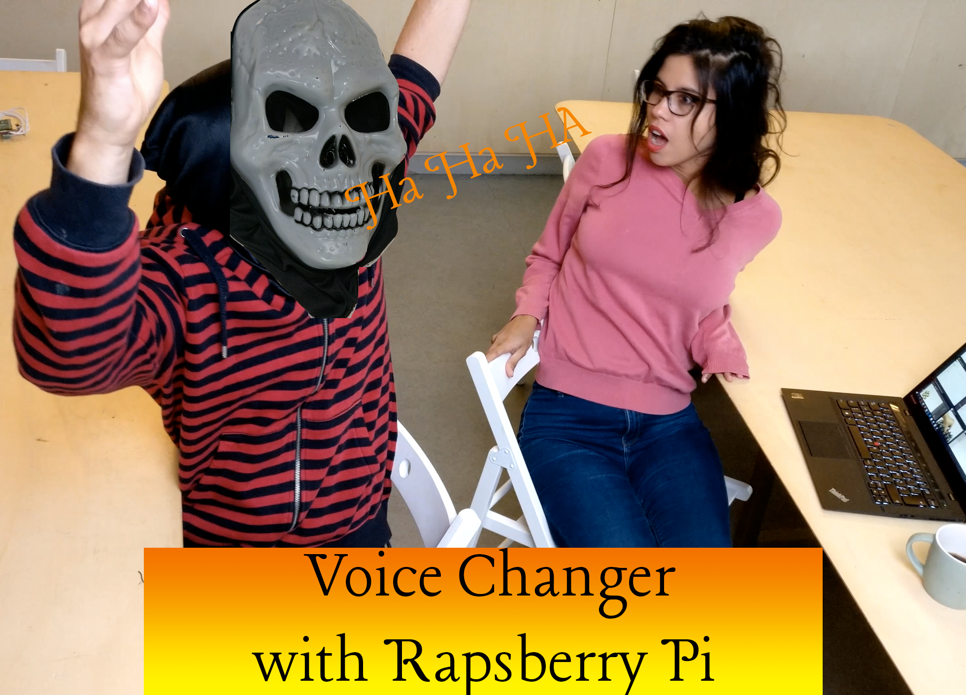 Make your own voice changer for your Halloween costume -