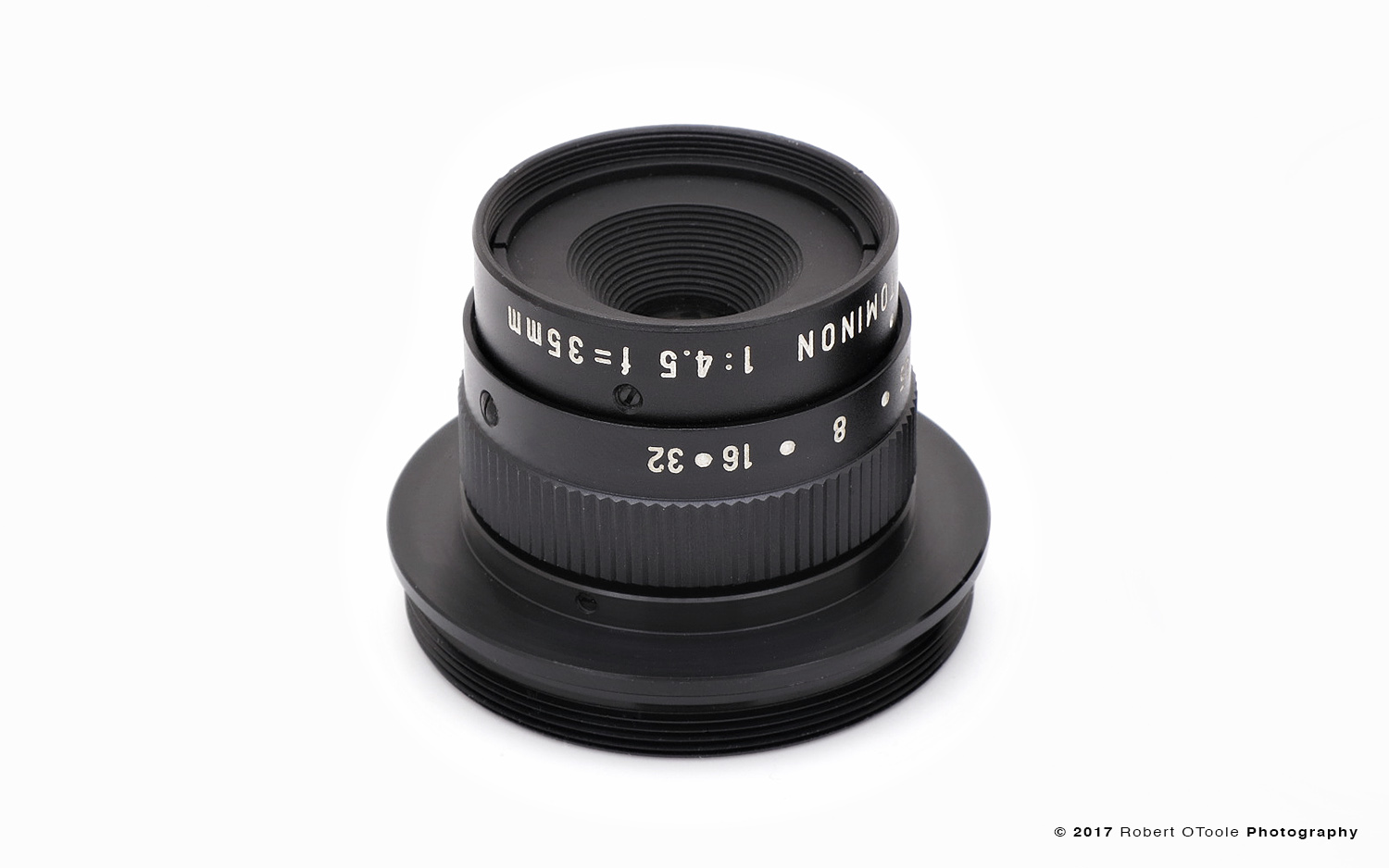 The Tominon 1:4.5 f=35mm Macro Lens
