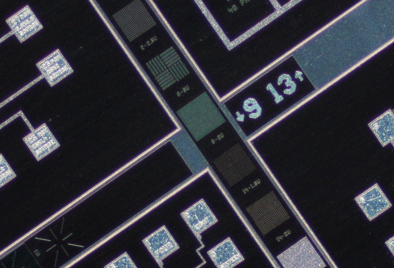 Nikon CFI Plan Achro 4X Gold Barrel center crop at 100% actual pixel view.Clicking on an image will open a larger version.