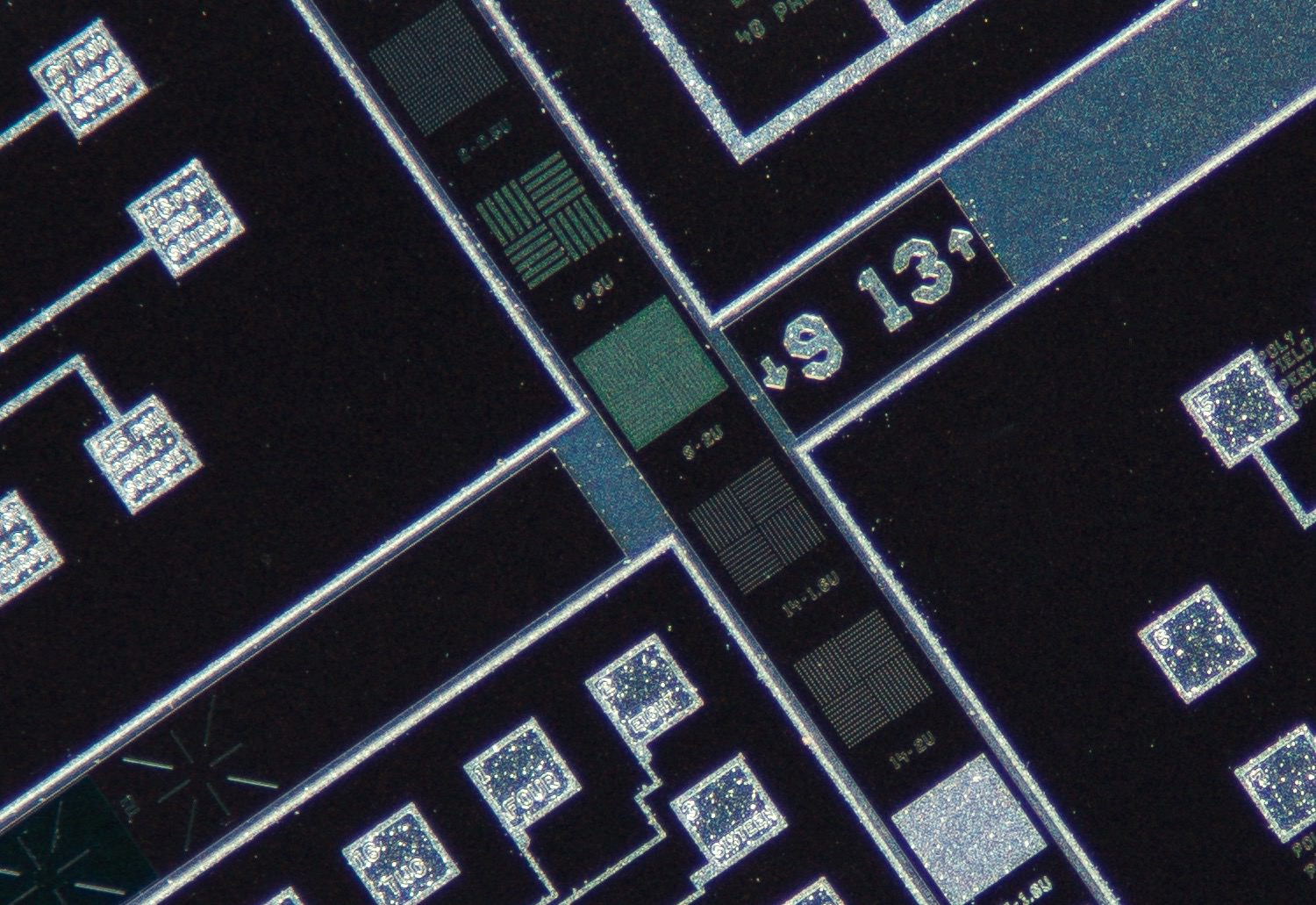 Nikon CF N Plan Achromat 4X/0.13 Microscope Objective 100% actual pixel view center crop. Clicking on an image will open a larger version.