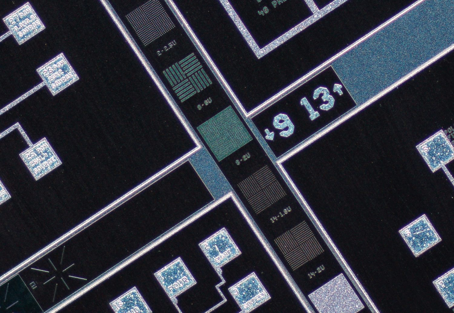 Nikon CFI Super Fluor 4X/0.20 ∞/- Microscope Objective 100% actual pixel view center crop. Clicking on an image will open a larger version.