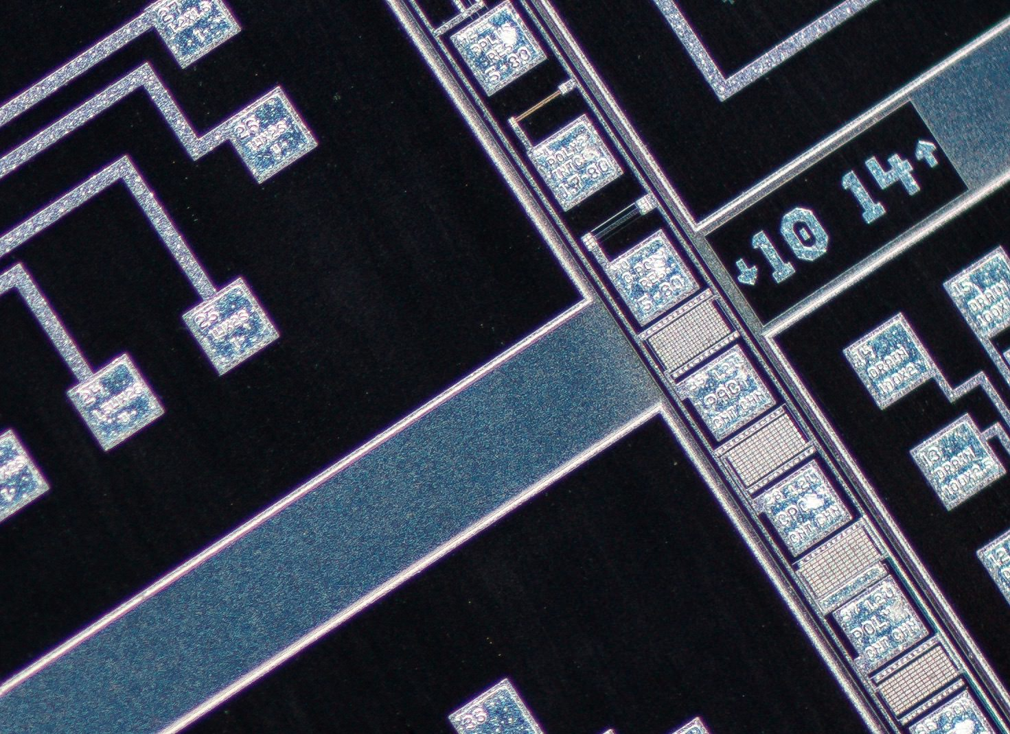 Nikon CFI Super Fluor 4X/0.20 ∞/- Microscope Objective 100% actual pixel view corner crop. Clicking on an image will open a larger version.