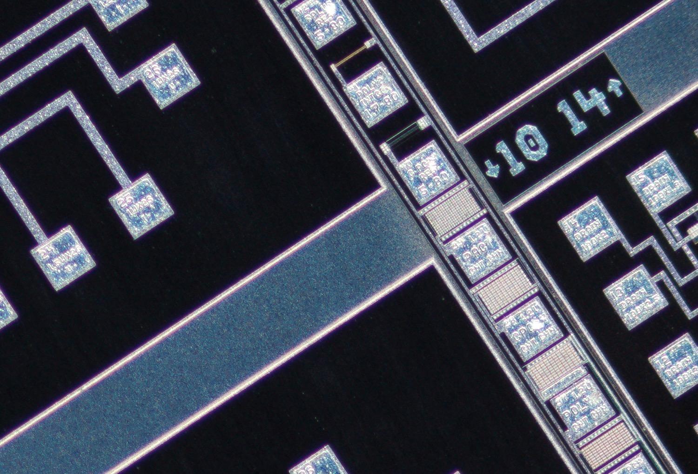 Nikon CFI Plan Fluor 4XA 4X/0.13 ∞/- Microscope Objective 100% actual pixel view corner crop. Clicking on an image will open a larger version.