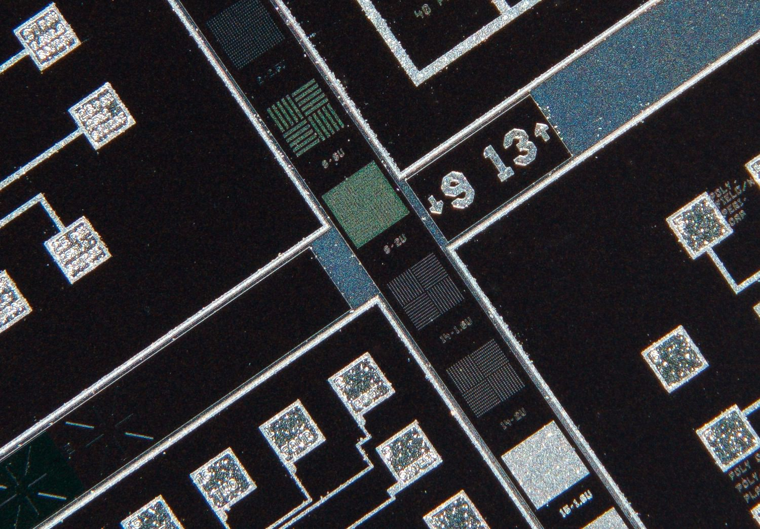 Nikon CF Plan APO 4x/0.16 160/- Finite Microscope Objective 100% actual pixel view center crop. Clicking on an image will open a larger version.