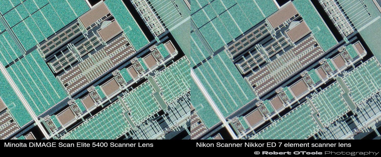Minolta-DiMAGE-Scan-Elite-5400-Scanner-Lens-vs-Nikon-Scanner-Nikkor-7-element-scanner-lens-at-2.25x-edge-crops-Robert-OToole-Photography.jpg