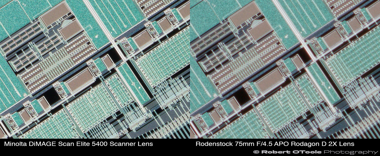 Minolta-DiMAGE-Scan-Elite-5400-Scanner-Lens-vs-Rodenstock-75mm-F4.5-APO-Rodagon-D-2X-lens-at-2.25x-corners-Robert-OToole-Photography.JPG