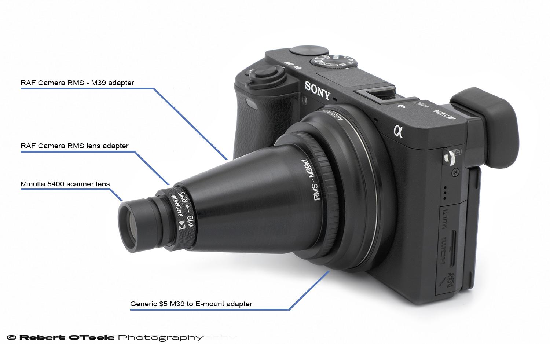 Minolta DiMAGE Scan Elite 5400 scanner lens