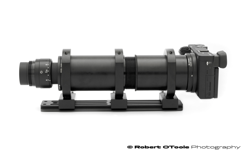 Nikon Rayfact GF 82mm Line Scan Lens with Sony A6300 Setup