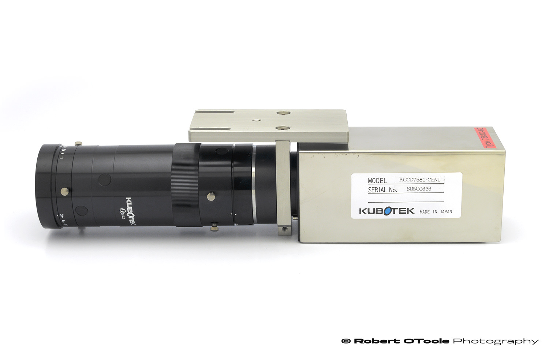 Kubotek Optics 80mm f/3.5 lens as purchased with Kubotek line scan camera KCCD7581.
