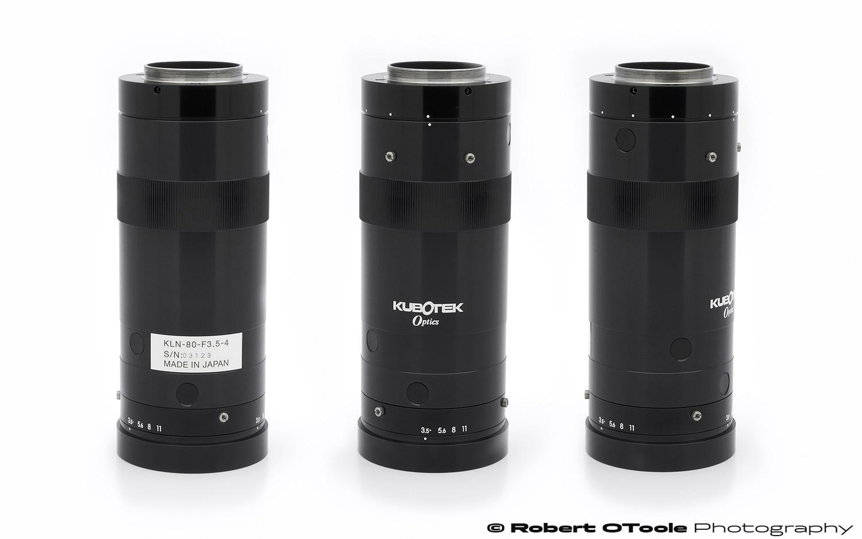 Kubotek Optics 80mm f/3.5 line scan lens