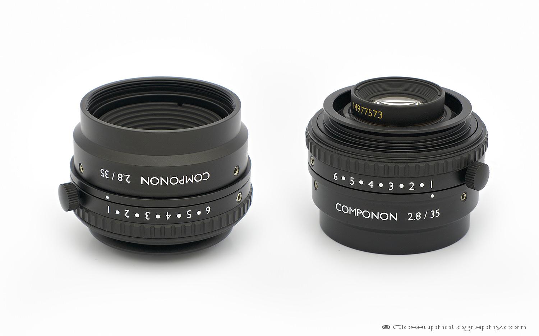 Schneider Kreuznach Componon 2.8/35 industrial machine vision lens