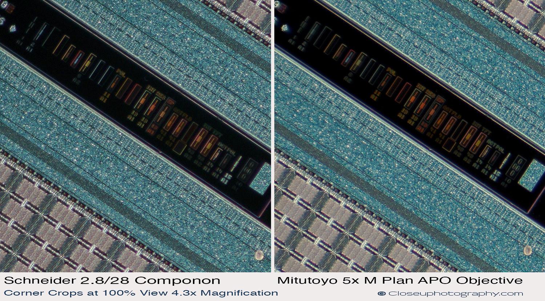 Corner-crops-Schneider-28-2.8-Componon-with-Makro-symmar-120-and-SK-Componon-28-4-at-4.3x-vs-Mitutoyo-5x-Plan-APO-closeuphotography.com.jpg