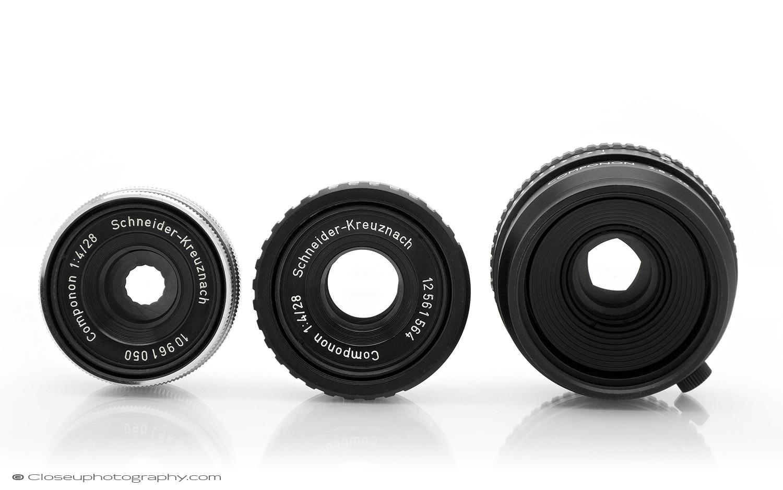 Schneider-28mm-Componon-3-types.jpg