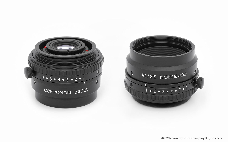 Schneider Kreuznach Componon 2.8/28 machine vision lens