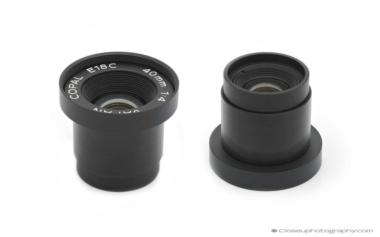 Copal E18C 40mm 1:4 Industrial Lens