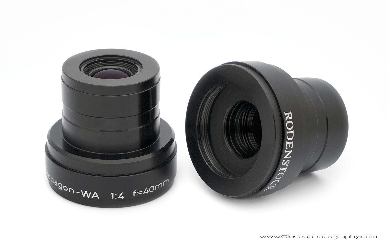 Rodenstock Rodagon WA 40mm f/4 Line Scan Lens