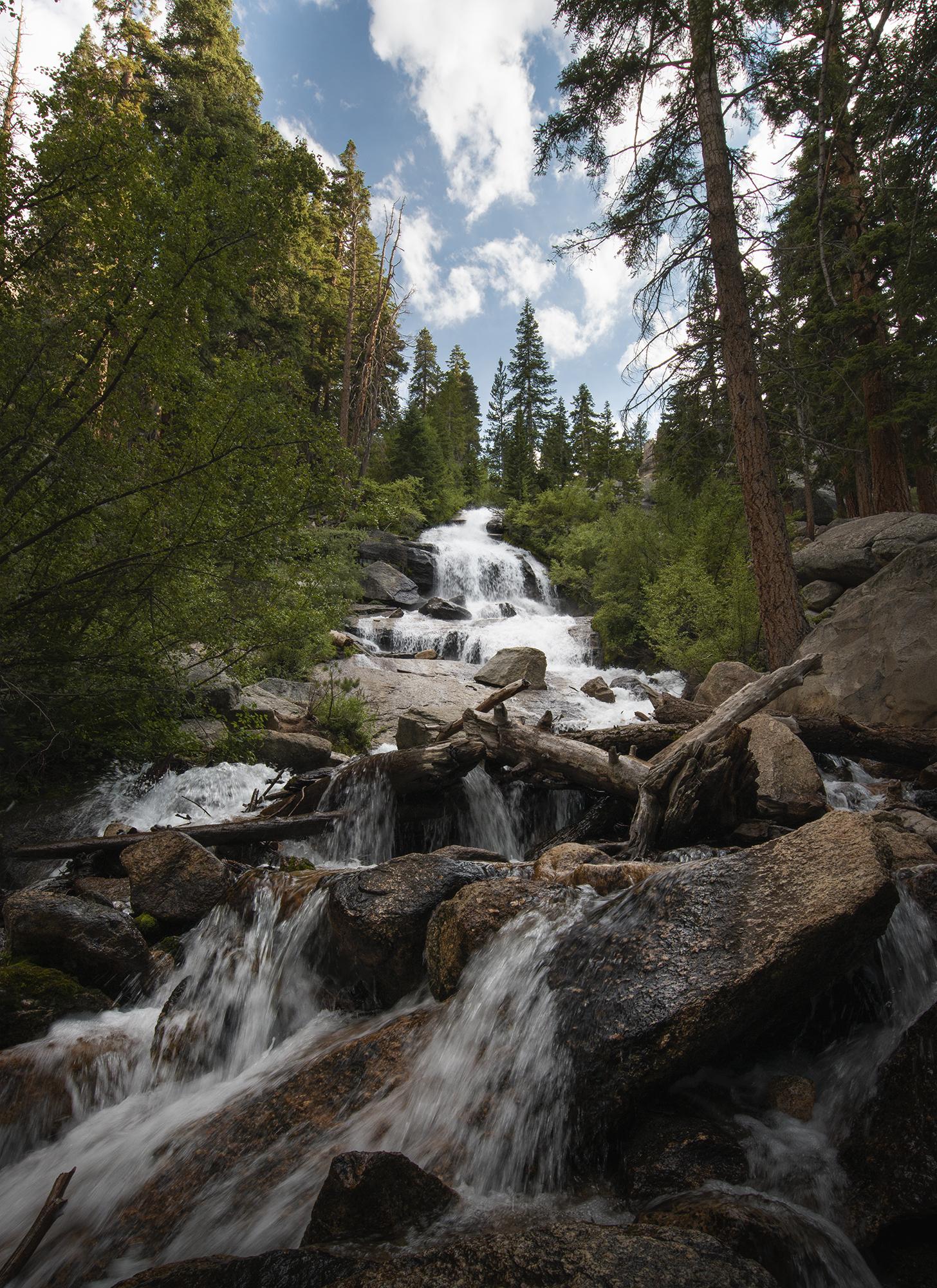 Lone Pine Creek Falls
