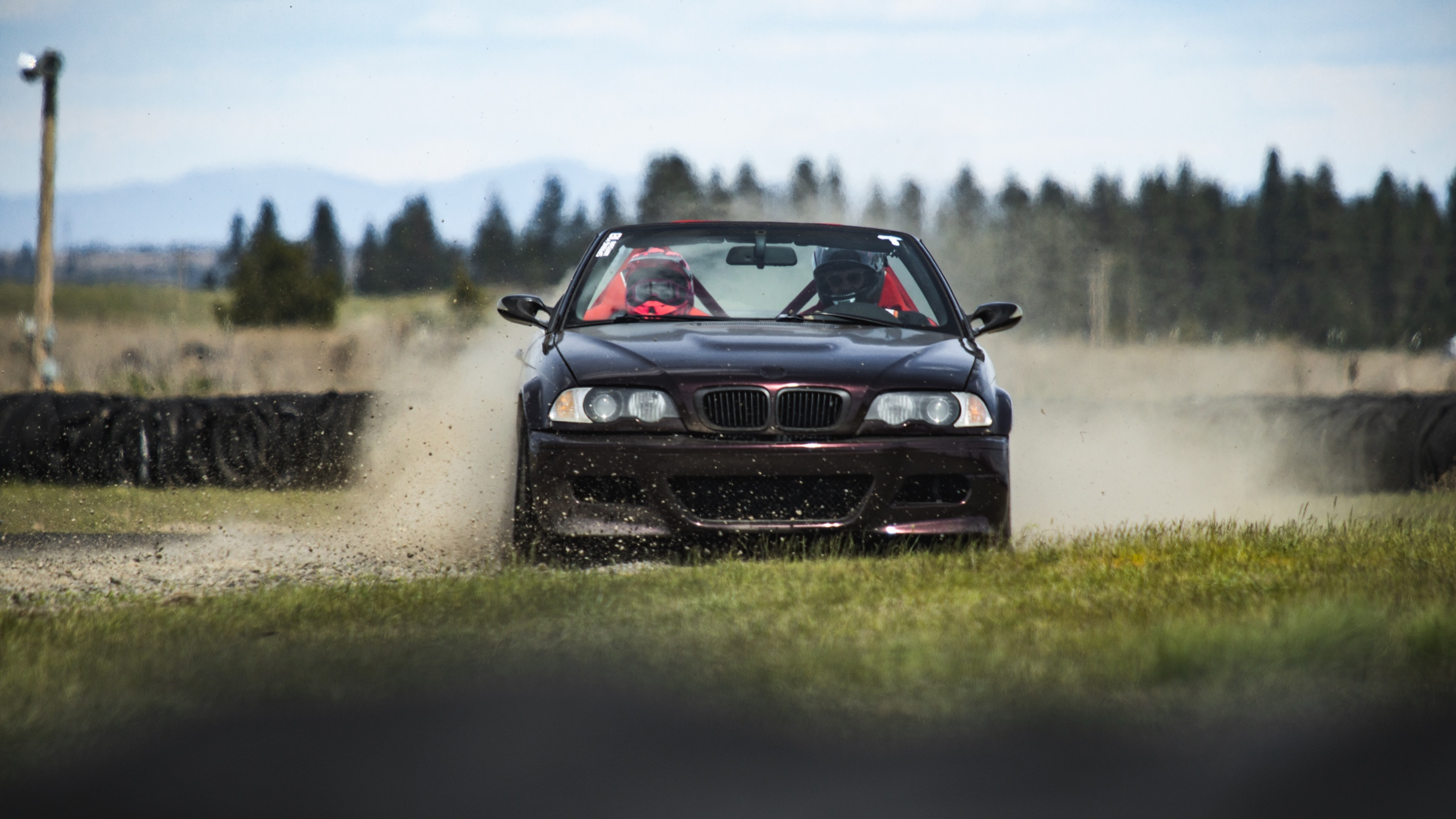 Emily and Edwin in the BMW E46 // Shot @ 400mm f/5.6 1/2500 ISO 400