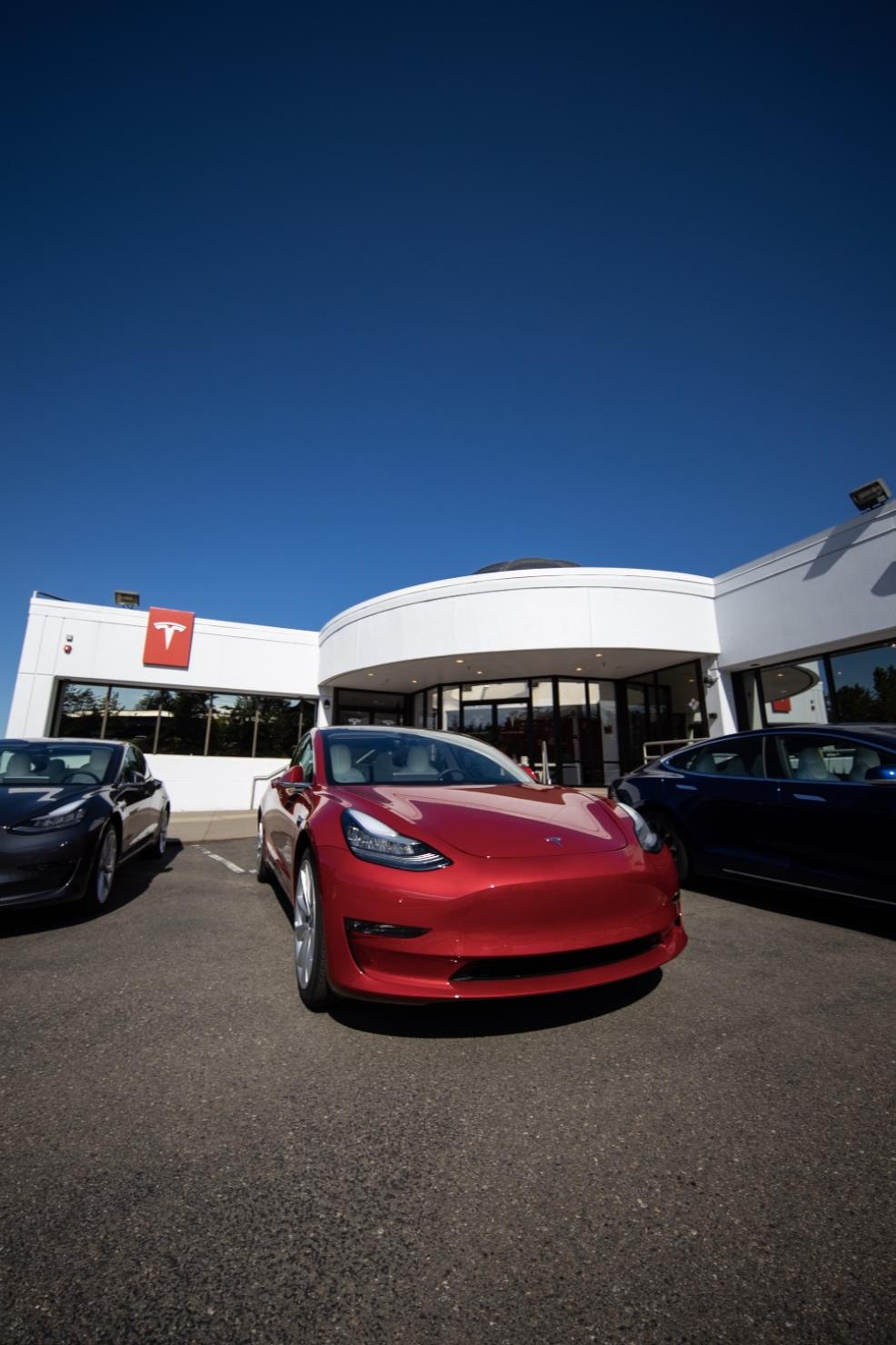 Bellevue Tesla Dealership