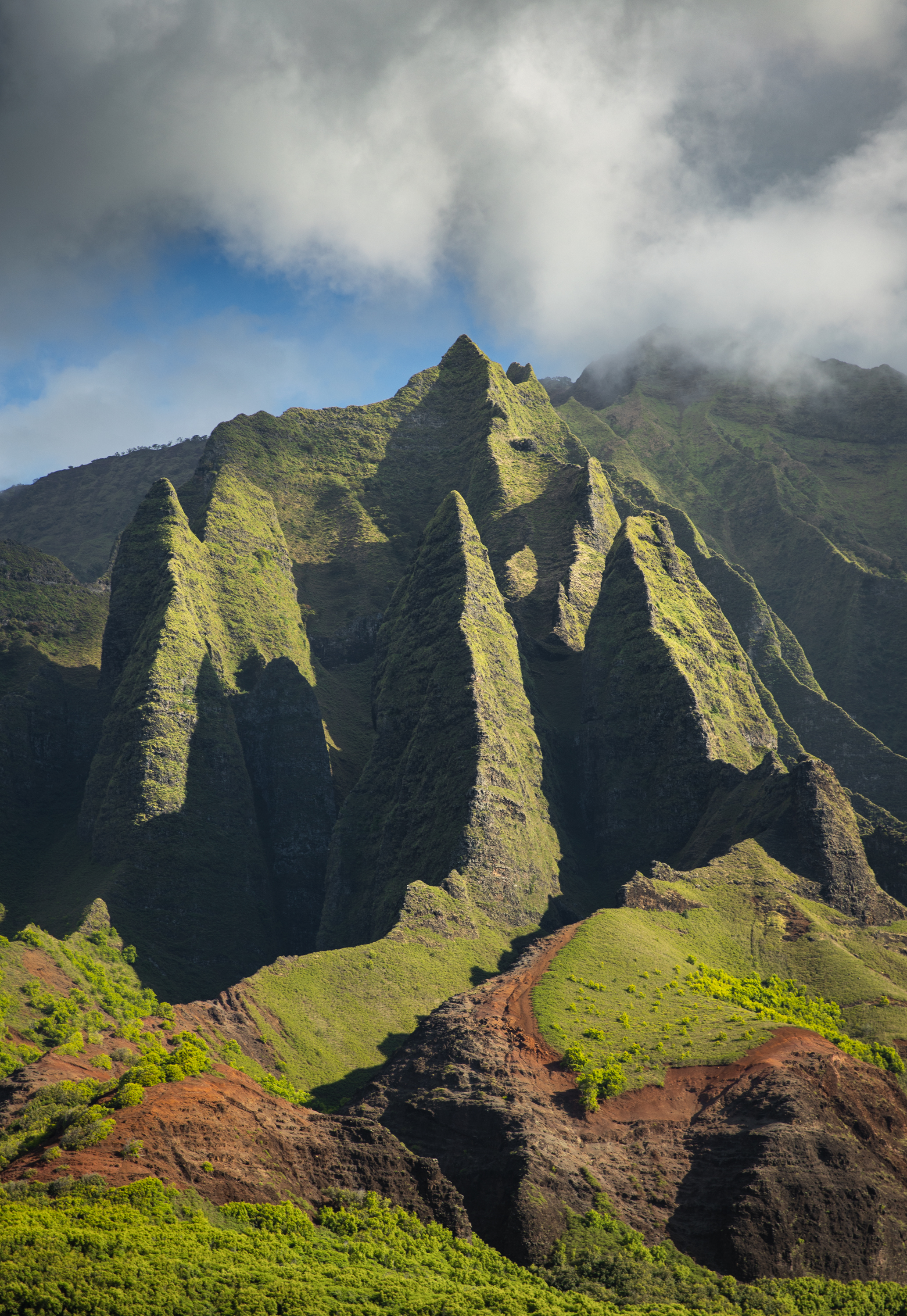 The Cathedrals of Kalalau