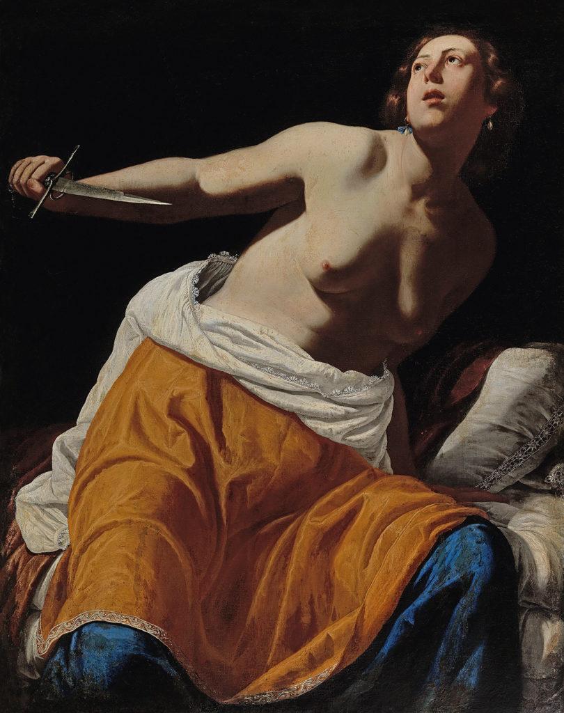 Artemisia Gentileschi,  Lucretia , ca. 1630–45. © Dorotheum.