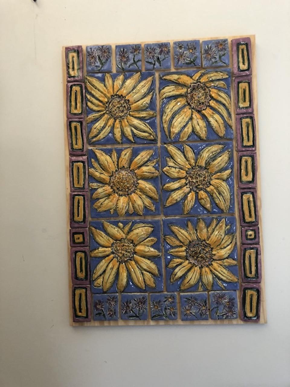 Autumn Song  ceramic tiles on board.jpg