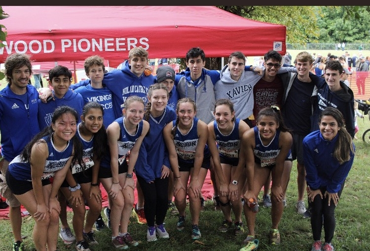 PEYTON HISEL AND BEN GEISER PACED BOTH CROSS COUNTRY TEAMS TO TOP 60 FINISHES AT THE CHILI PEPPER FESTIVAL -