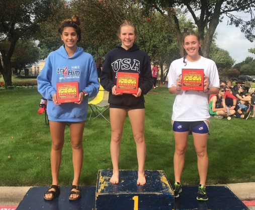 PEYTON HISEL FINISHES 3RD AT THE STATE TRIATHLON CHAMPIONSHIP!! -
