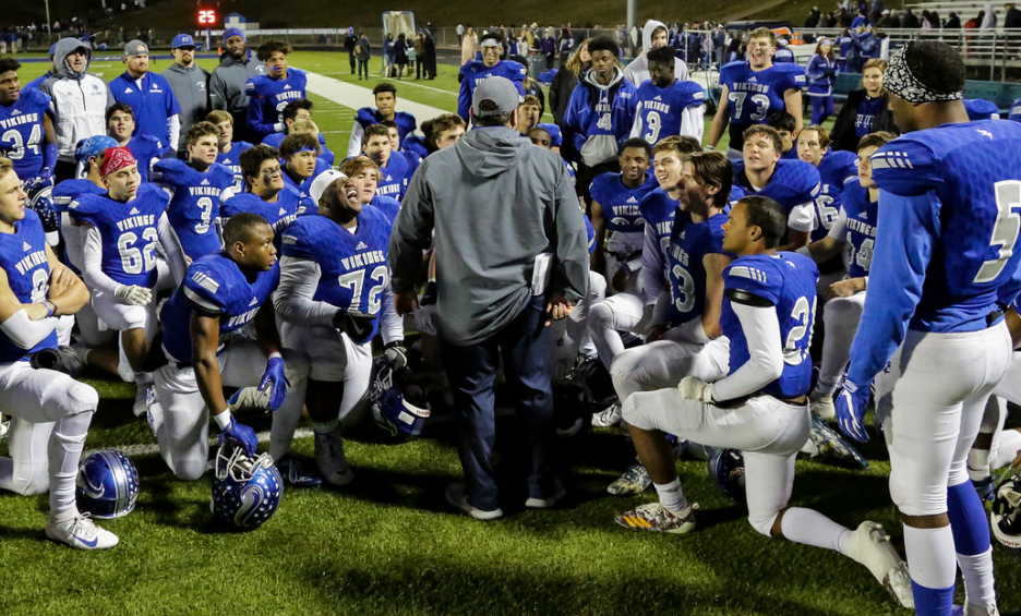 11/24 FOOTBALL SEASON COMES TO AN END WITH 27-14 LOSS TO PARISH EPISCOPAL IN SECOND ROUND. - GAME RECAP