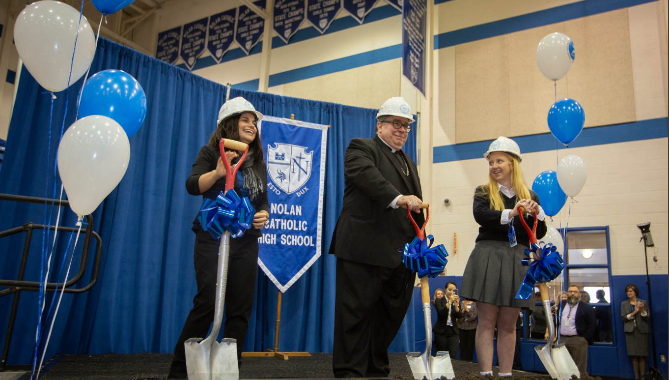 NOLAN CATHOLIC HIGH SCHOOL EXPANDS THE EXPERIENCE! - FULL ARTICLE