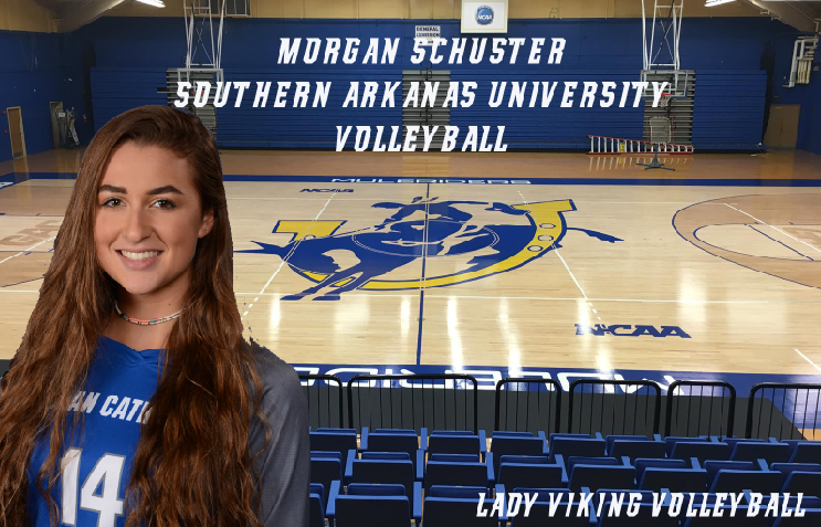 MORGAN SCHUSTER SIGNS TO ATTEND AND PLAY VOLLEYBALL AT SOUTHERN ARKANSAS UNIVERSITY!! -