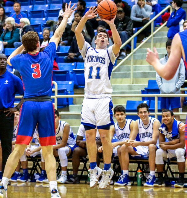 1/14 MBB DOMINATES ALL SAINTS IN DISTRICT GAME, 65-38!! -