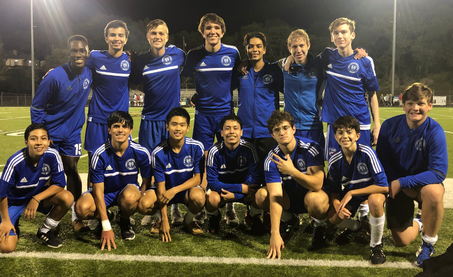 2/12 MEN'S SOCCER DEFEATS PRESTONWOOD TO ADVANCE! 4-0 -