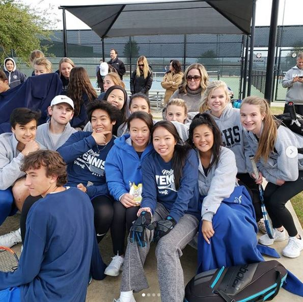 3/4 TENNIS DOMINATES ALL SAINTS MATCH! - BOTH TEAMS WIN BY A SCORE OF 5-0!