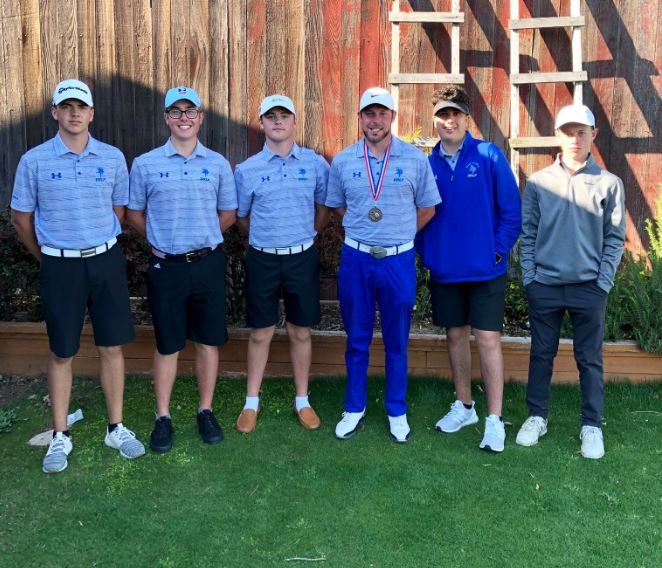 3/25 BOYS GOLF FINISHES 3rd OF 12 TEAMS AT RICK REEDY INVITATIONAL! -