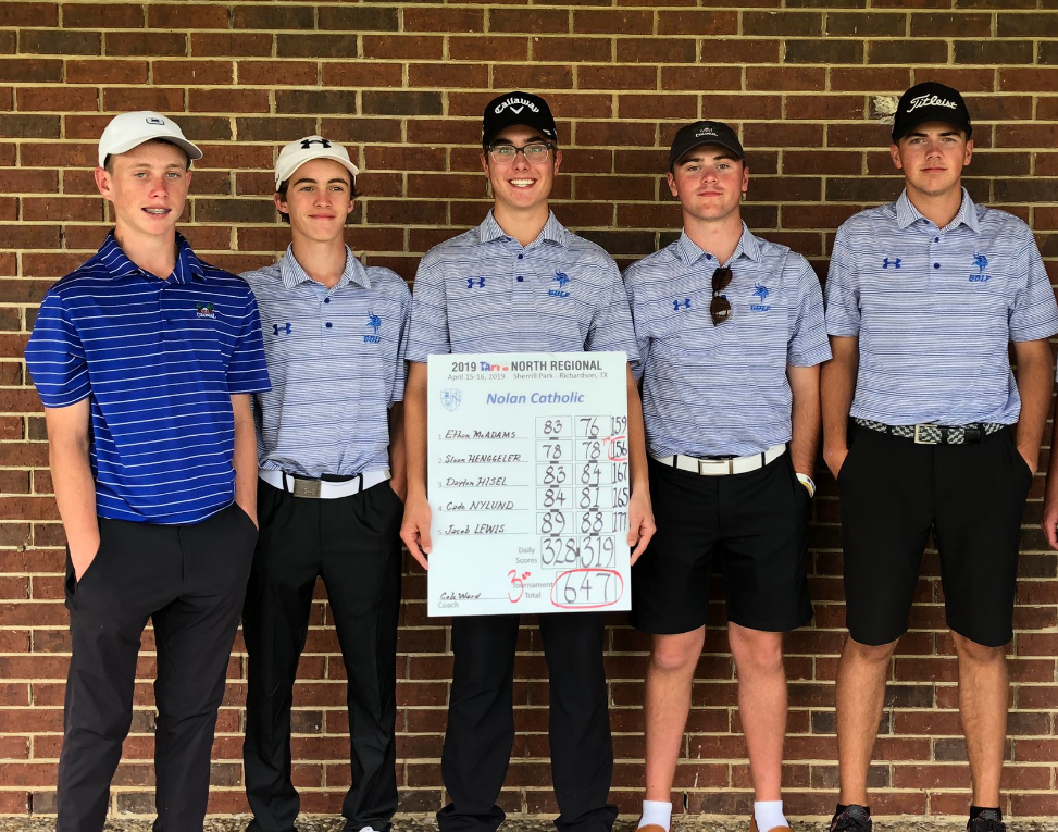 2/16 BOYS GOLF FINISHES 3RD AT REGIONAL'S, ADVANCES TO STATE! HENGGELER FINISHES 7TH OVERALL! -