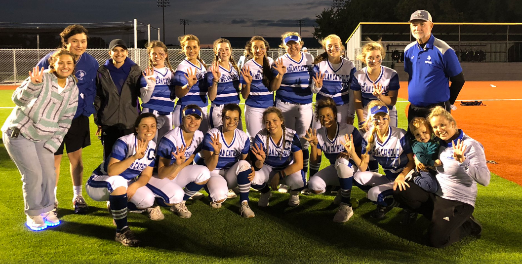 5/16 SOFTBALL ENDS INCREDIBLE SEASON IN CROSBY, LOSES TO LYNCH IN SEMI-FINAL GAME 5-3. -
