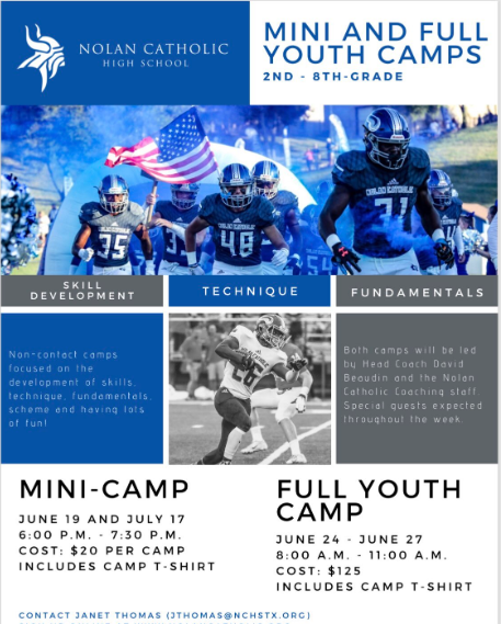 TWO CHANCES TO WORK WITH THE 2019 DISTRICT CHAMPS! SIGN UP BELOW! - Youth Training CampMini-Camp