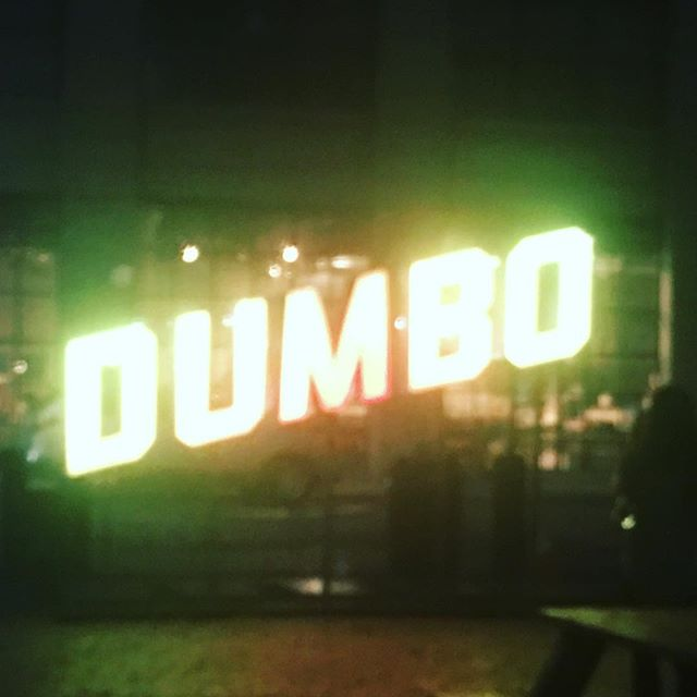 Dumbo was lit up green tonight. #greenskybookkeeping #accounting #nyc