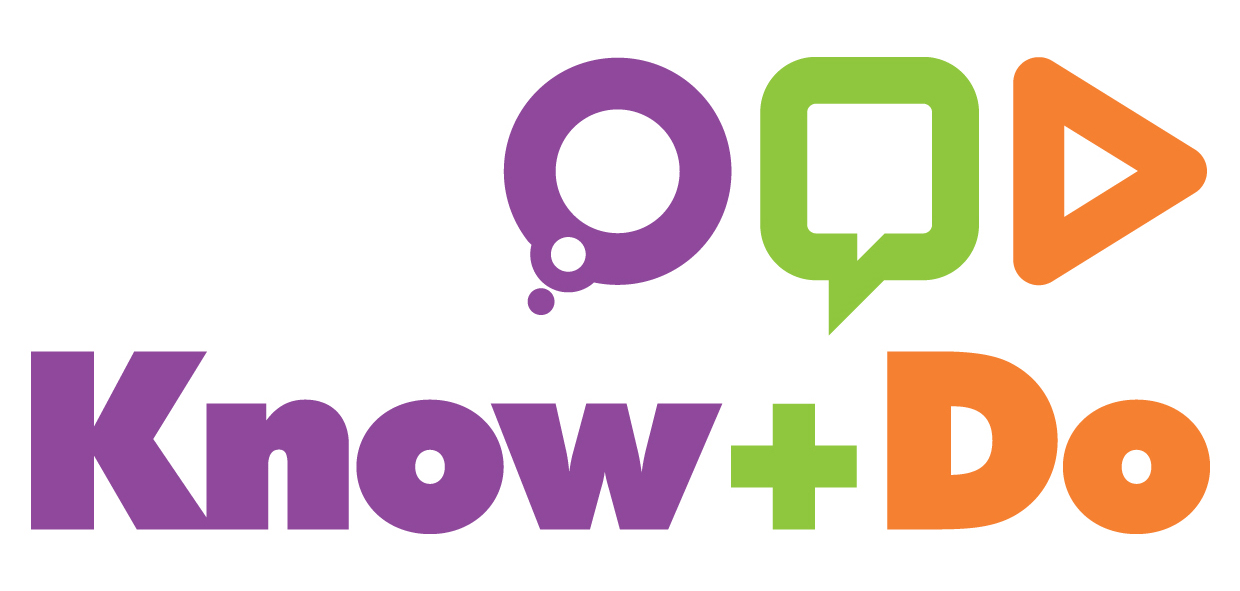 The lovely Know and Do Limited logo… still fresh from its creation in 2010!