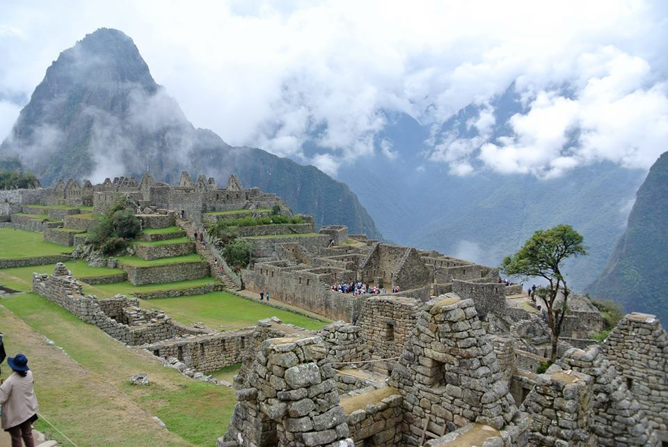 Bart to SFO - Plane to Mexico City - Plane to Lima - Plane to Cusco - Taxi to train station - Train to Agua Calientes - Bus to Machu Picchu