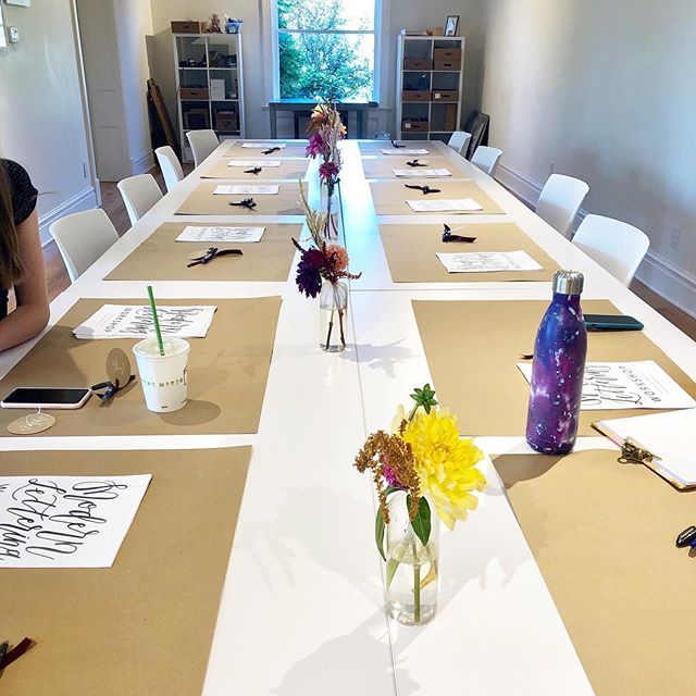 Join us for Modern Calligraphy at @bowoodfarms on Friday, October 25th! . . . . . . . #calligraphy #moderncalligraphy #dippen #dippencalligraphy #pointedpen #pointedpencalligraphy  #stl #stlouis #calligraphyworkshop