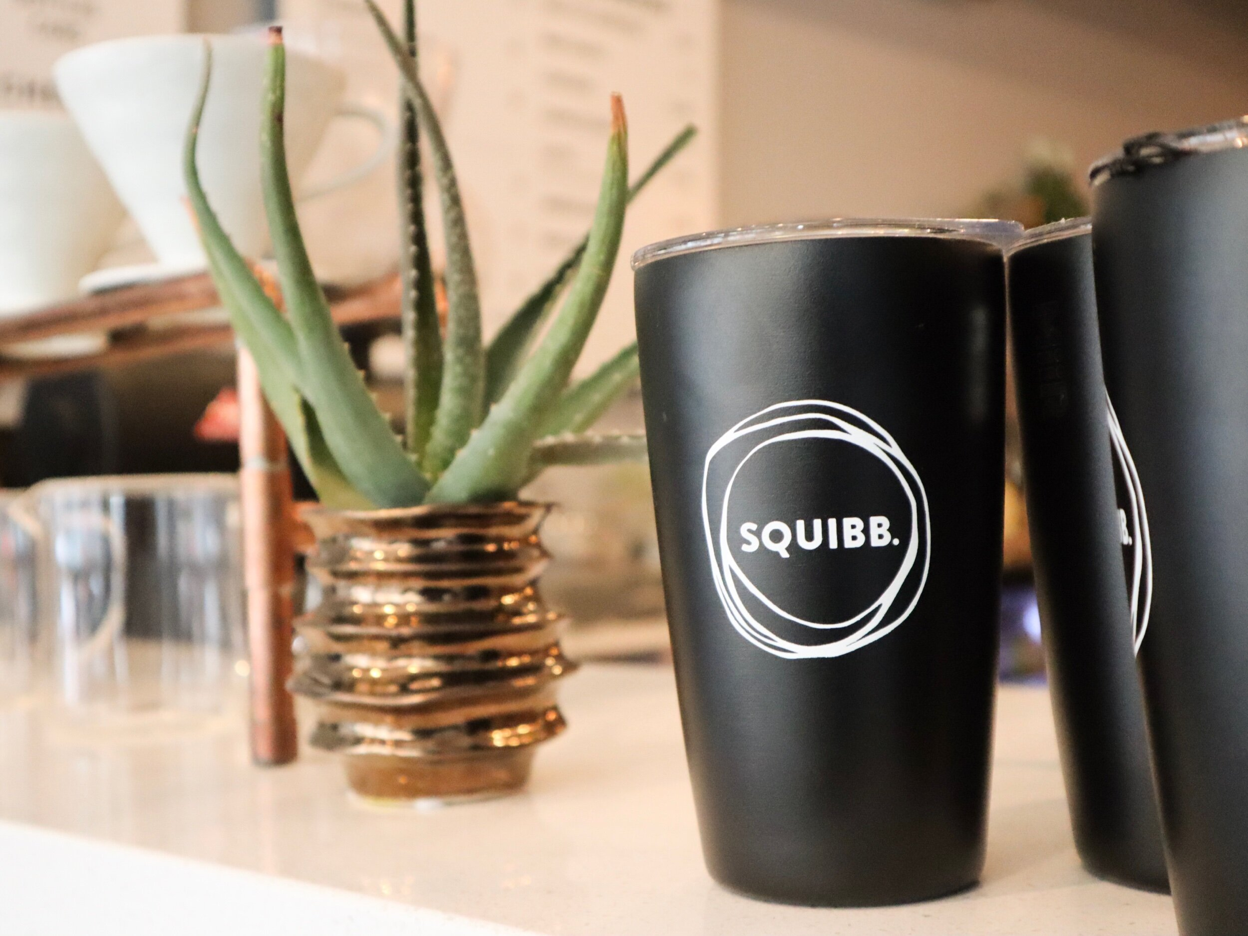 Squibb Coffee + Wine Bar!