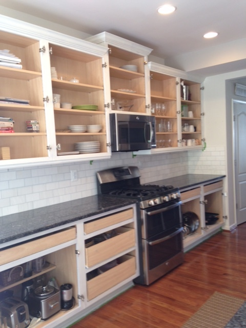 How To Paint Kitchen Cabinets Cottage Style