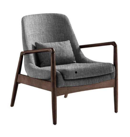 Office: mid-modern chair