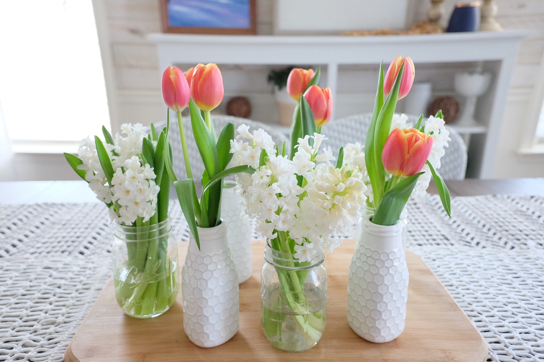 Tulips and Hyacinthus