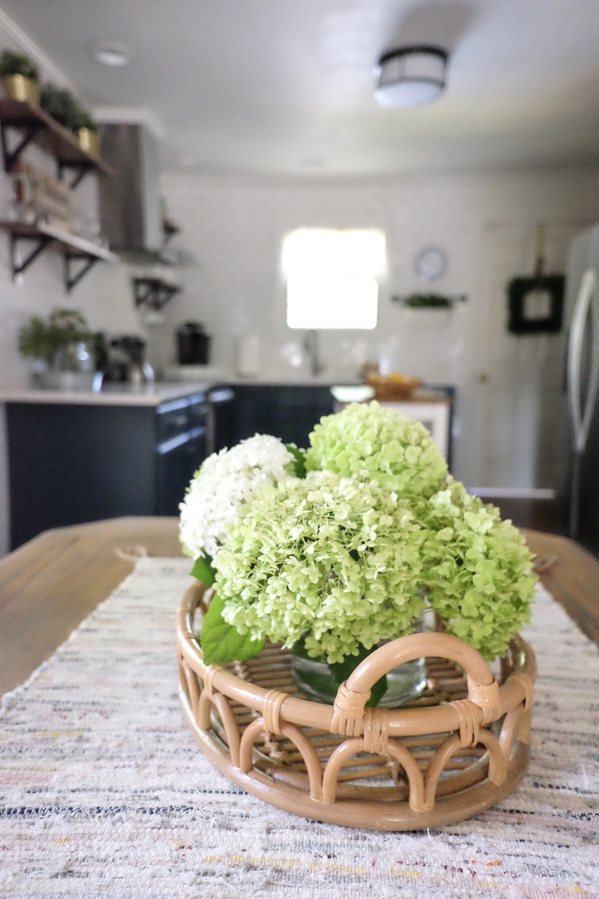 Even love how these cabinets look from a distance!   cottagestyleblog.com