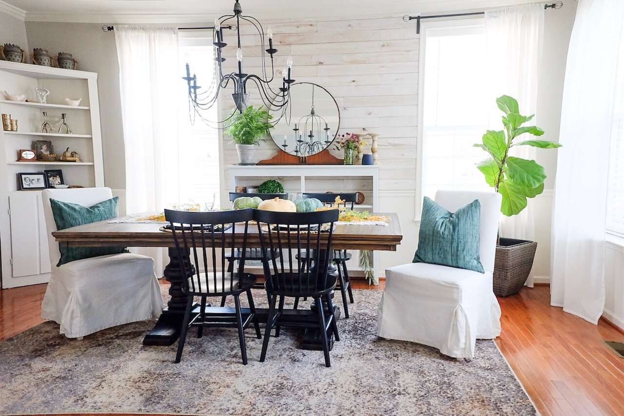 Fall Dining Room:  Cottagestyleblog